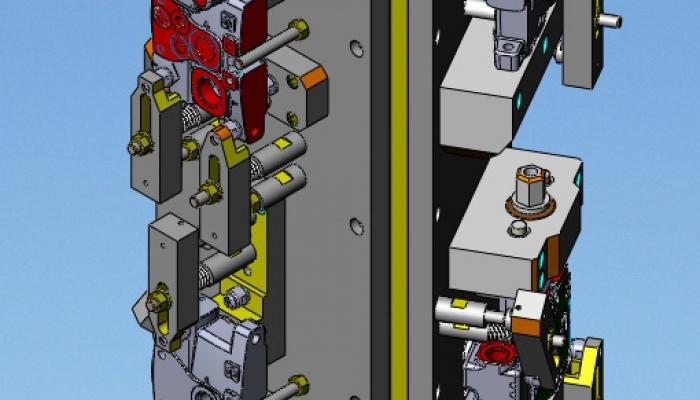cubo presa pezzo e staffaggio corpi su centro di lavoro