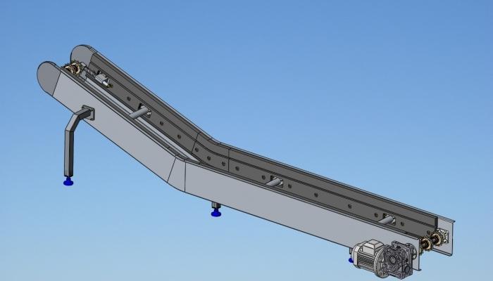 mcservice-modena-progettazione-meccanica-consulenza-tecnica-divisione-alimentare-Trasportatore a disegno