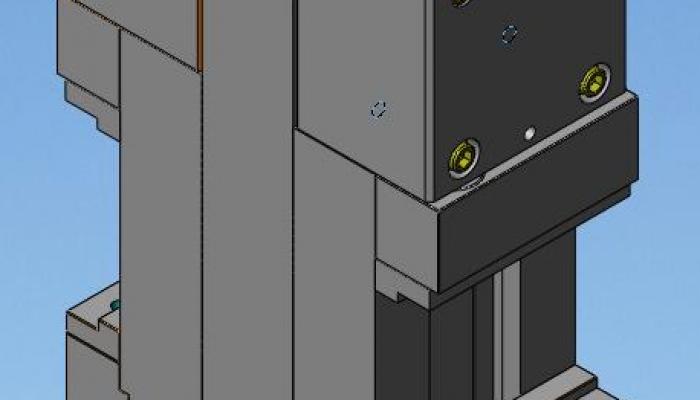 morsa idraulica per centri di lavoro